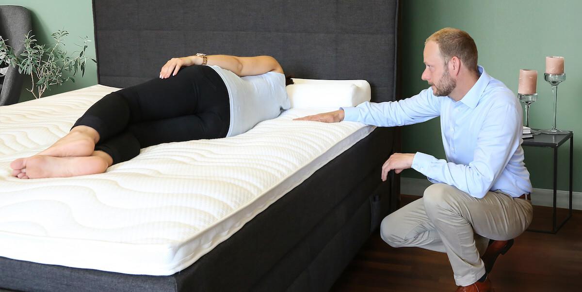 Das perfekte Schlafsystem für Ihre Schlafposition