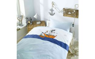 Lorenchen Bettwäsche mit Piraten 100x135 + 40x60