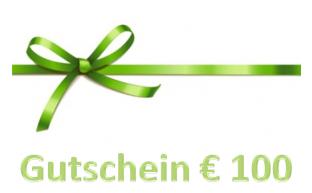 Geschenkgutschein € 100.-