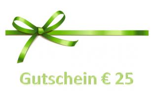 Geschenkgutschein € 25.-