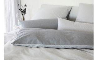 Elegante Bettwäsche Soft Flanell Tender Silver
