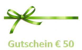 Geschenkgutschein € 50.-
