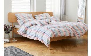 Elegante Bettwäsche Pajamas Regenbogen