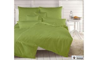 Dormabell Uni Satin Bettwäsche apfelgrün