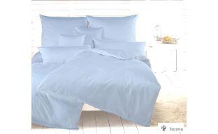 Dormabell Uni Satin Bettwäsche bleu