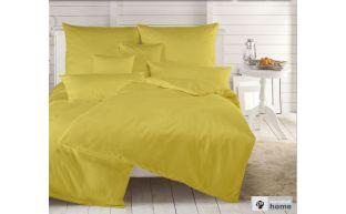 Dormabell Uni Satin Bettwäsche gelb