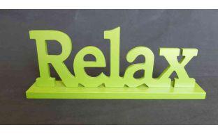 Aufsteller ''Relax''