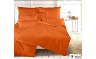 Dormabell Uni Satin Kissenbezug orange