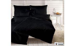 Dormabell Uni Satin Bettwäsche schwarz