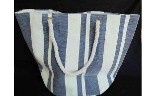 Tasche blau mit kordel