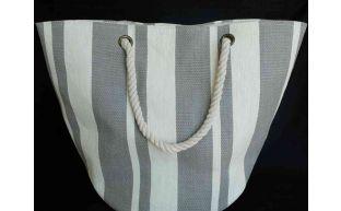 Tasche grau mit kordel