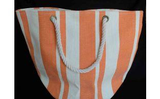 Tasche orange mit kordel