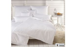 Dormabell Uni Satin Bettwäsche weiß
