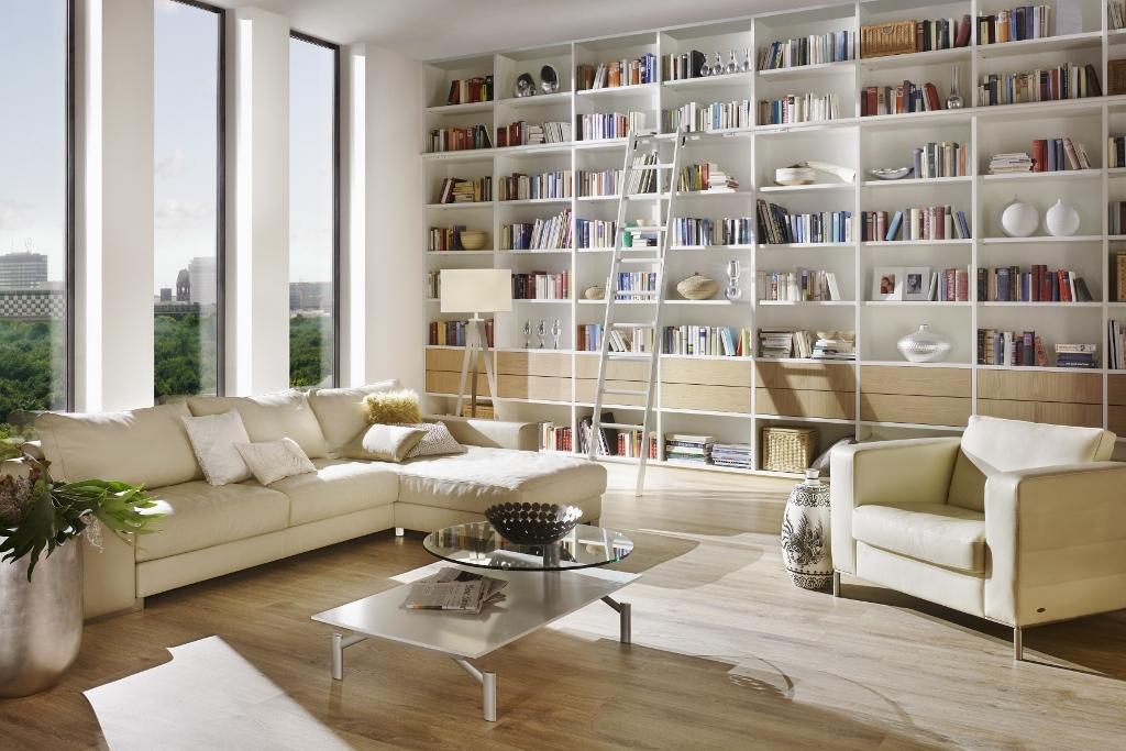 Wohnzimmer nach Maß geplant