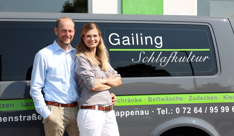 Sabrina und Norman Gailing